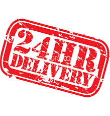 24 hr delivery